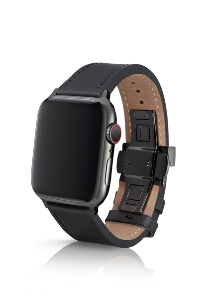 JUUK 40mm Korza Vayder Premium Italian Leather Apple Watch Band