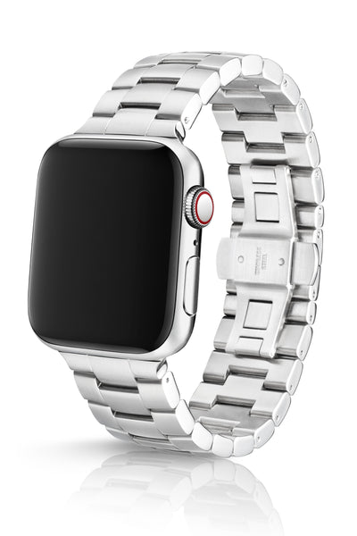 JUUK 44mm Velo Brushed Premium Stainless Steel Apple Watch Band