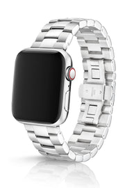 JUUK 44mm Velo Brushed/Polished Premium Stainless Steel Apple Watch Band