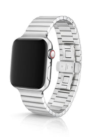 JUUK 44mm Revo Polished Premium Steel Apple Watch Band