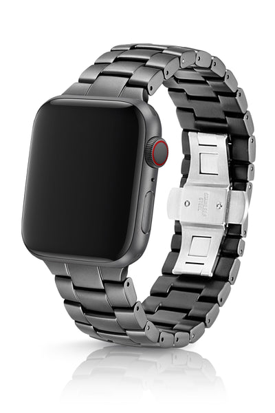 JUUK 44mm Velo Cosmic Grey Premium Aluminum Apple Watch Band