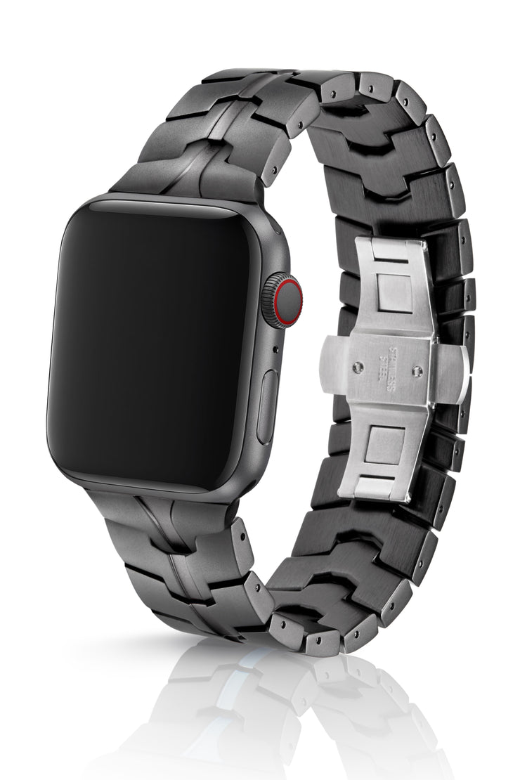 JUUK 44mm Vitero Cosmic Grey Premium Aluminum Apple Watch Band
