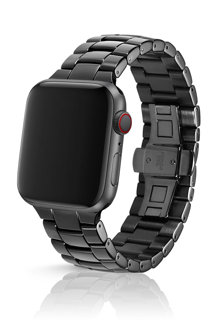 JUUK 44mm Velo Obsidian Premium Aluminum Apple Watch Band