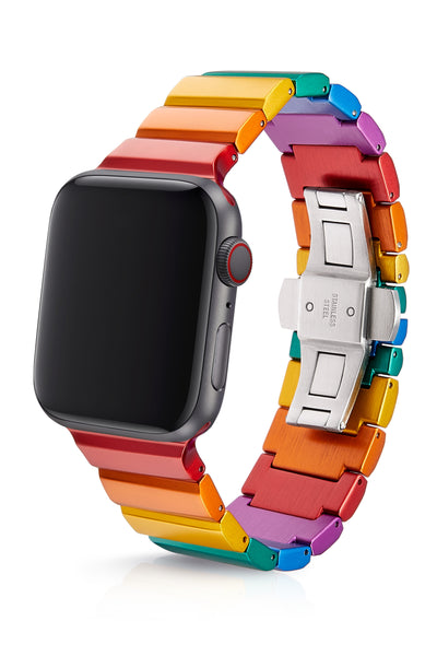 JUUK 44mm Ligero Rainbow Premium Aluminum Apple Watch Band