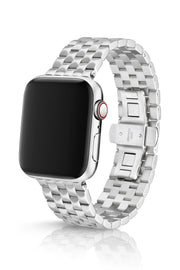 JUUK 44mm Locarno Brushed Premium Stainless Steel Apple Watch Band