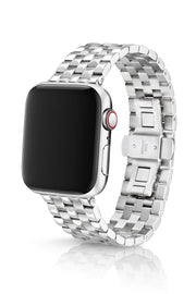 JUUK 44mm Locarno Polished Premium Stainless Steel Apple Watch Band