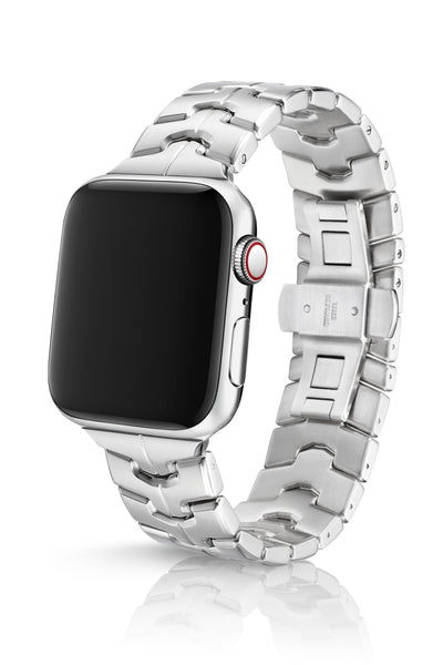 JUUK 44mm Vitero Brushed Premium Stainless Steel Apple Watch Band