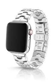 JUUK 44mm Vitero Polished Premium Stainless Steel Apple Watch Band