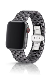 JUUK 44mm Qrono Cosmic Grey Premium Aluminum Apple Watch Band