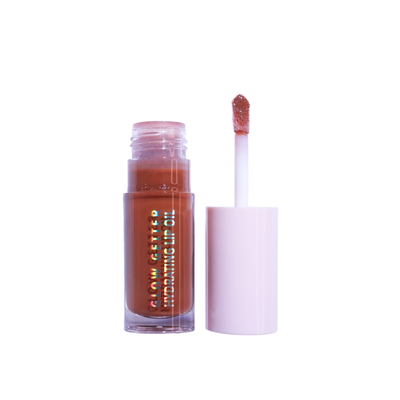 Glow Getter Hydrating Lip Oil (002, Let's Cuddle) bronzy