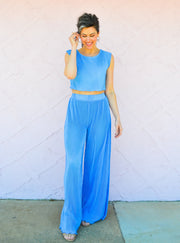 The Magic of Mykonos Top + Pant Set