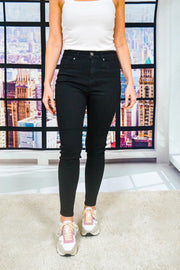 The Marina black ankle length jeans