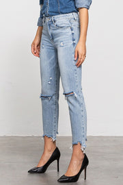 Not My Boyfriend's cropped boyfriend jeans