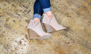Let's Taupe About It bootie