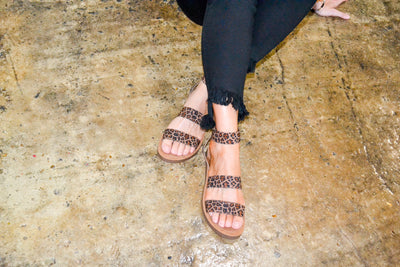 Can't be Tamed sandals
