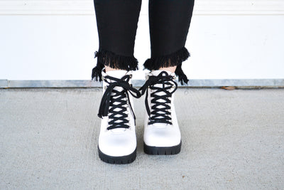 Snow Angel combat boots