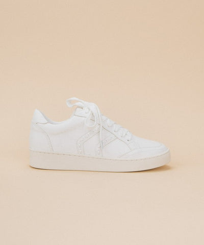 Upbeat white sneakers