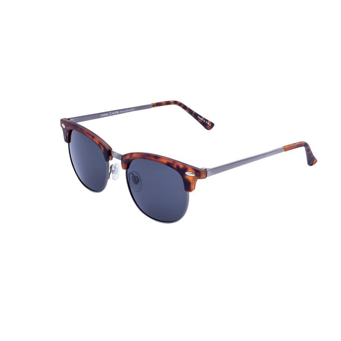 Men's Stainless Steel Sunglasses, Daniel Klein Premium DK3181-1