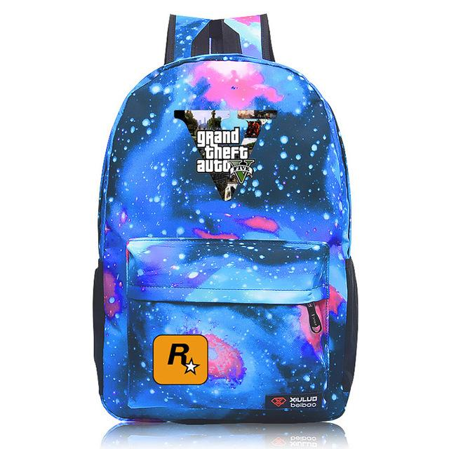 Grand Theft Auto Game Backpack GTA