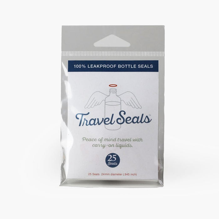 Travel Seals™ 25 Leakproof Bottle Seals