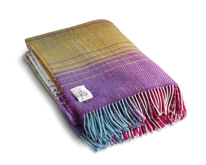 "Merino Cashmere Throw 54"" x 71"" - Brittas"