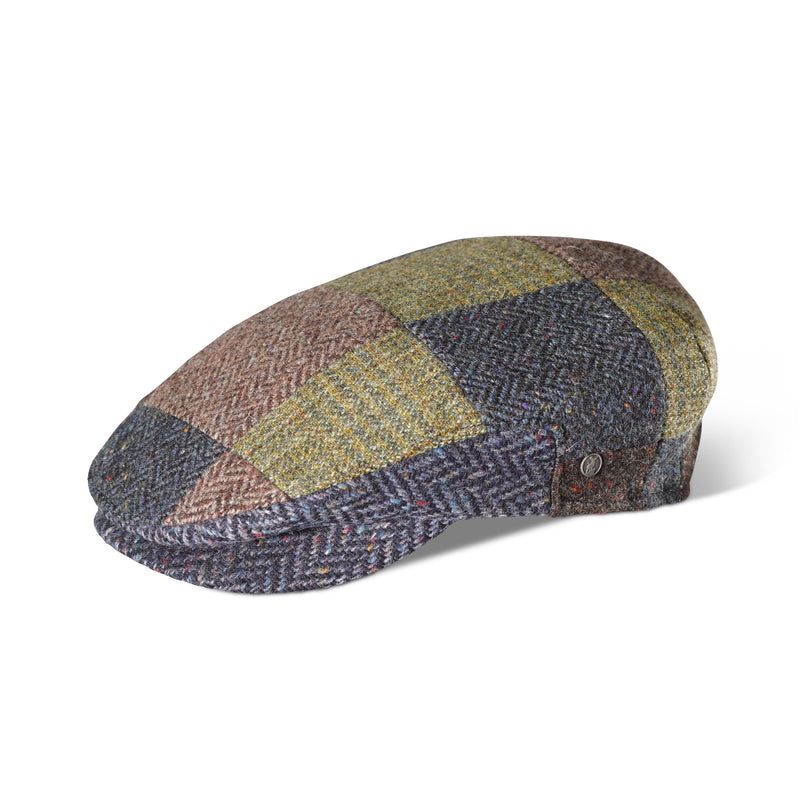 Tweed Classic Patchwork Cap