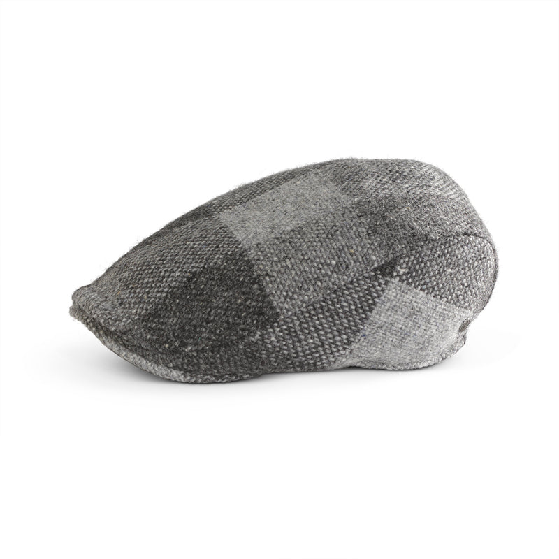 Tweed Cap Grey Check