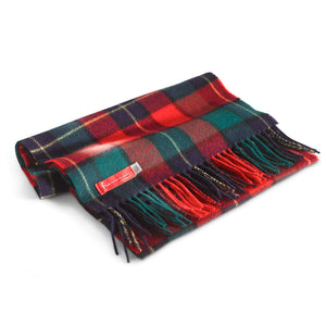 "Lambswool scarf 12"" x 60"" - Holly"