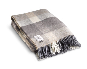 "Merino Cashmere Throw 54"" x 71"" - Moyle"