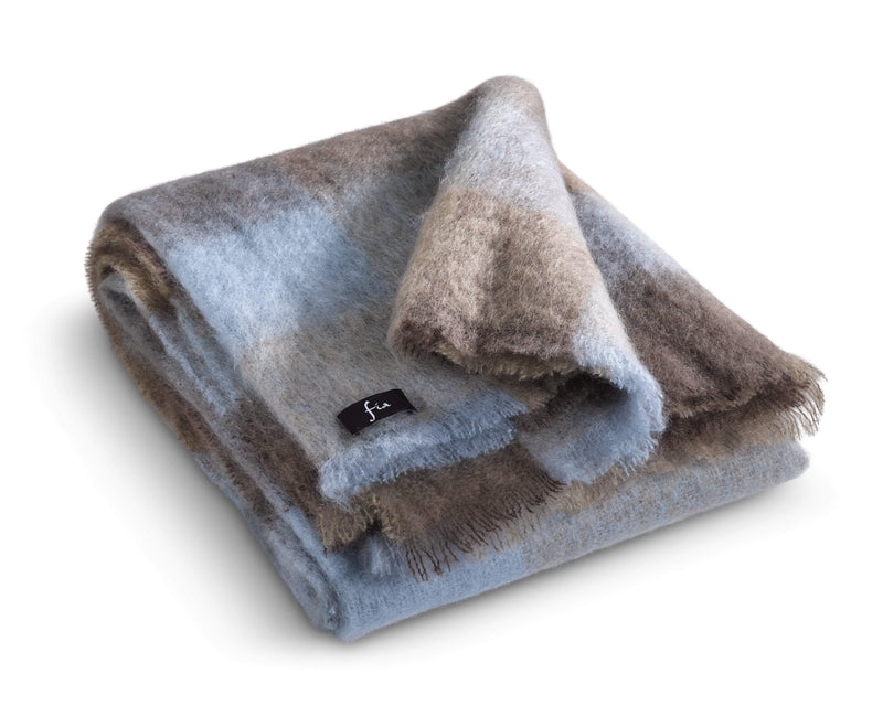 Mohair Wool Throw 54