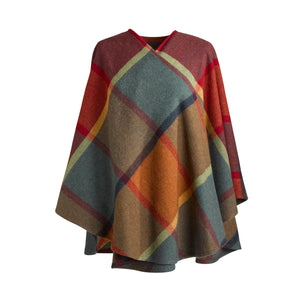 Saoirse 100% Brushed Lambswool Cape