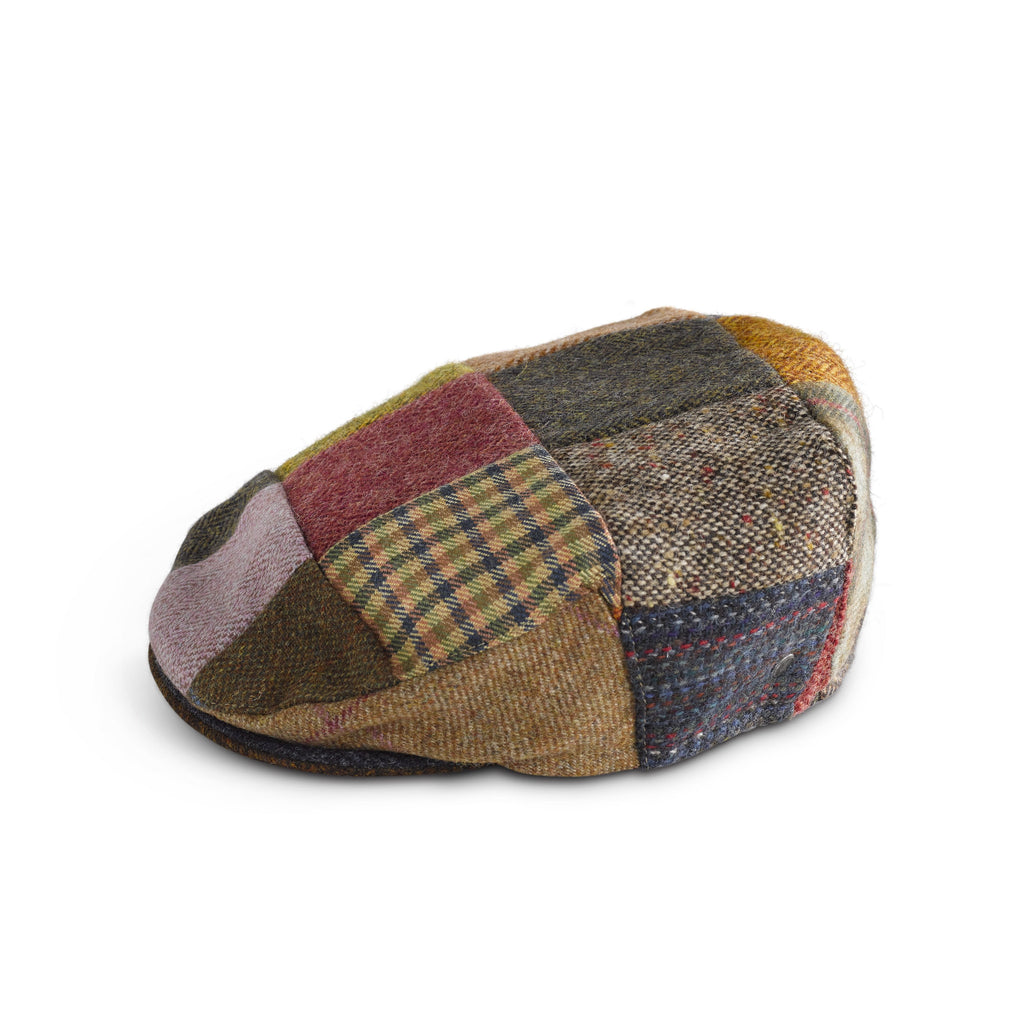 Irish Tweed Flatcap Patchwork