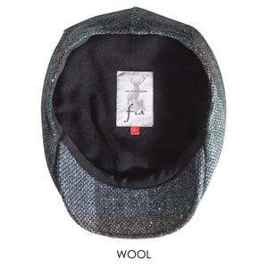 Tweed Cap Green