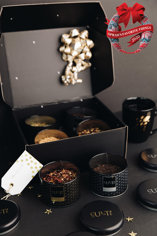 Cup of Té Luxe Organic Tea Set (Oprah's Favorite Things 2020)