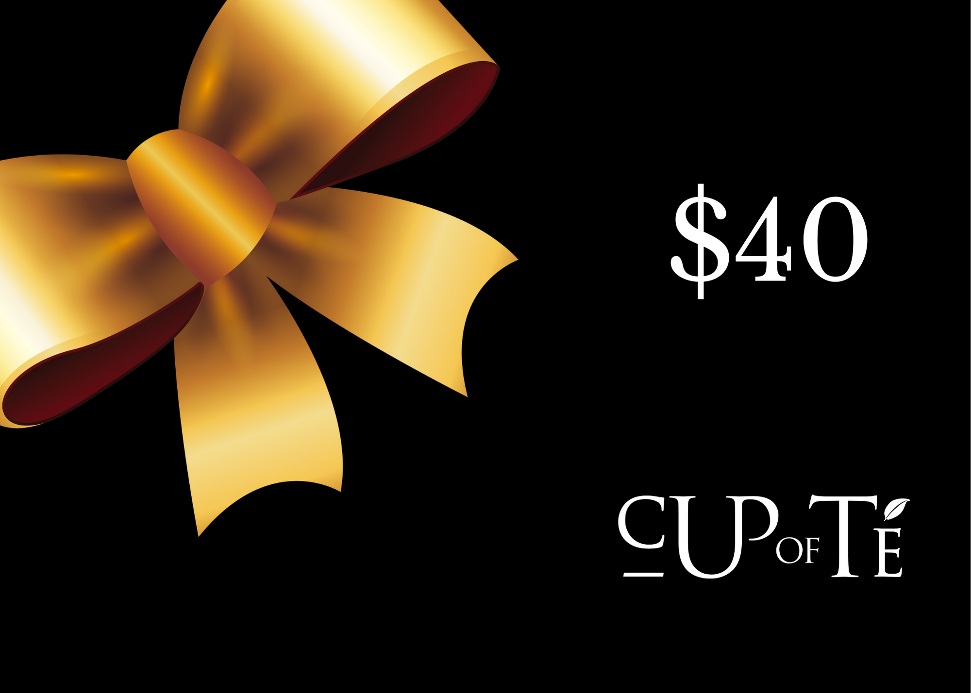 Cup of Té Gift Card