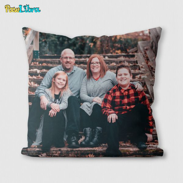 Custom Pillow of Any Photo—Personalized Gift
