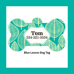 Personalized Pet ID Tag (Bone Shape)