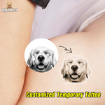Custom Temporary Tattoo of Your Pet