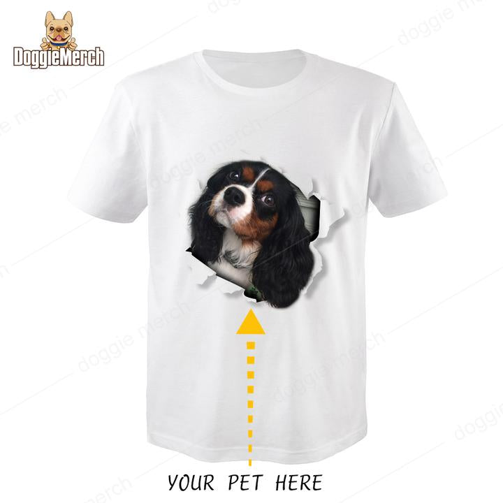 Custom Pet Photo T-Shirt