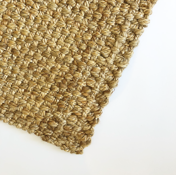 Rug Natural Jute Panama Hall Runner