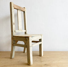 Load image into Gallery viewer, Chair - Children's Antique Timber