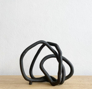 Sculpture - Black Abstract