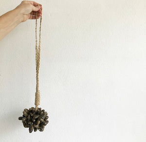 Shell Tassel - Chocolate Cluster