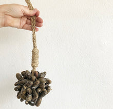 Load image into Gallery viewer, Shell Tassel - Chocolate Cluster