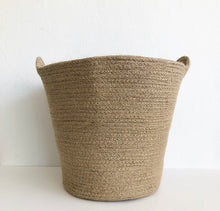 Load image into Gallery viewer, Bag/ Basket  - Natural Jute with Handles
