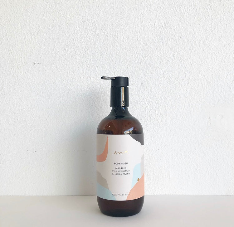 Ena - Body Wash Mandarine + Pink Grapefruit