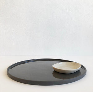 Platter - Charcoal Large
