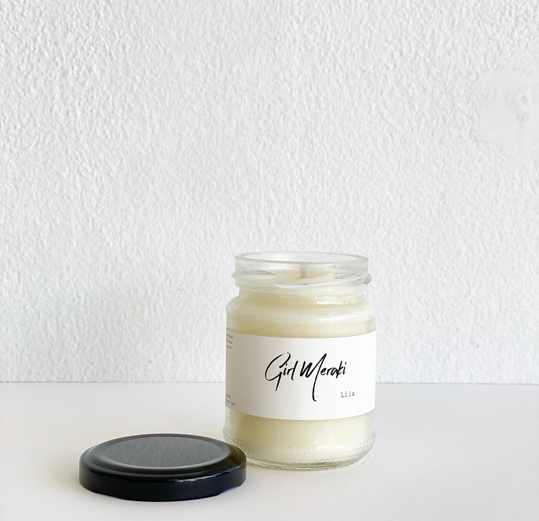 Candle - Lila Small