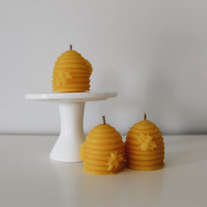 Beehive Votive Candle