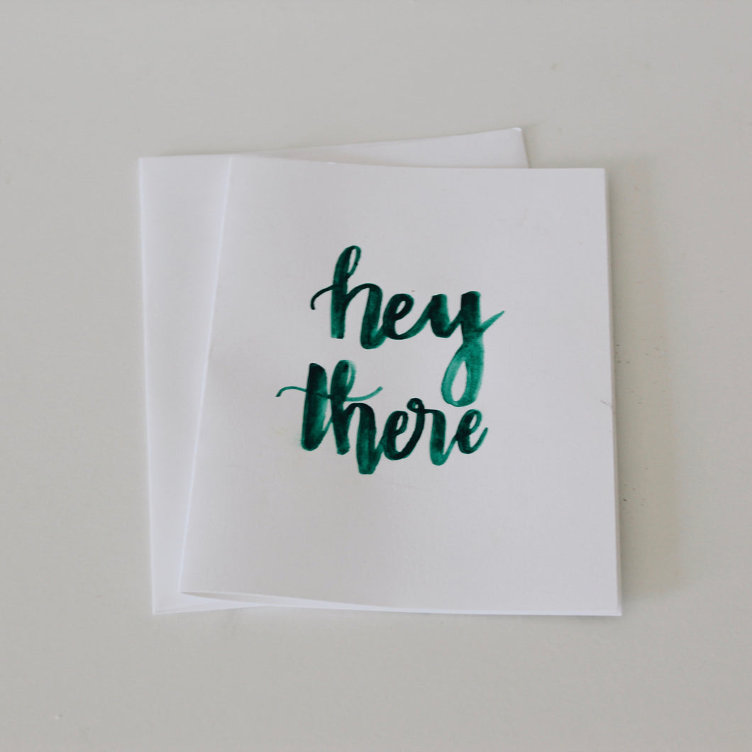 Hey There Greeting Card
